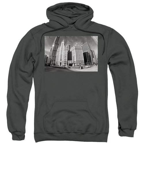 Wrigley Building - Chicago Sweatshirt