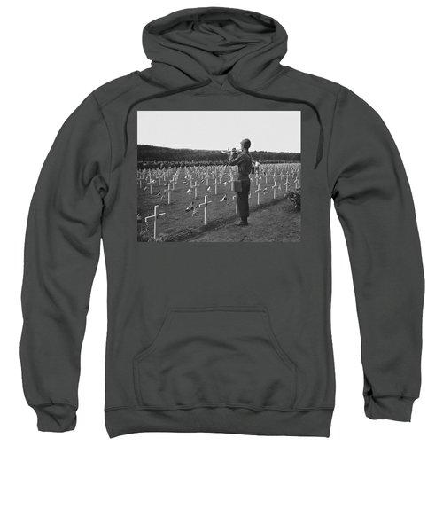 Wwii Taps Memorial Service Sweatshirt