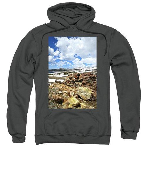 Wyoming's Big Horn Pass Sweatshirt