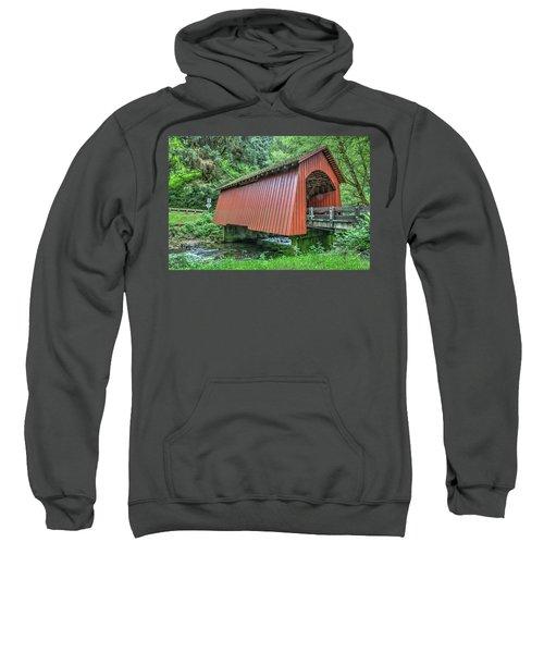 Yachats Covered Bridge Sweatshirt