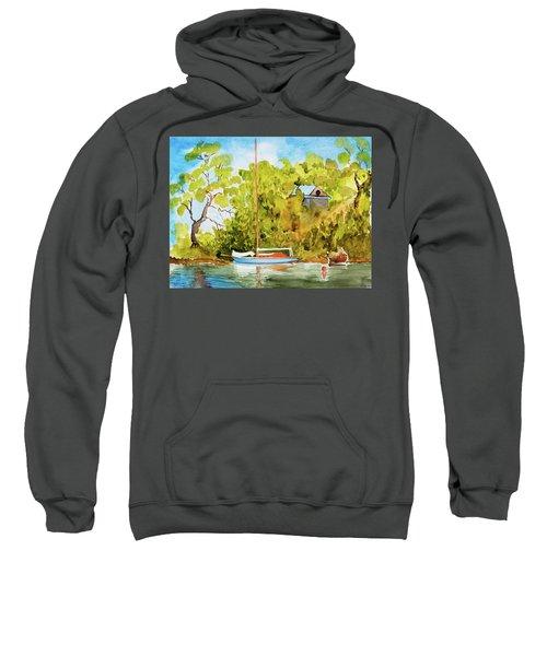 Yacht Weene' In Barnes Bay  Sweatshirt