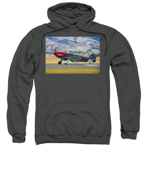 Yakovlev Yak 3-m Sweatshirt by Bernard Spragg