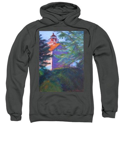 Yaquina Bay Lighthouse  Sweatshirt