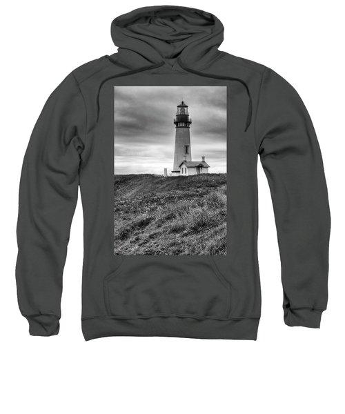 Yaquina Head Lighthouse - Monochrome Sweatshirt