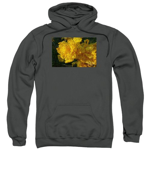 Yellow Abstraction Sweatshirt