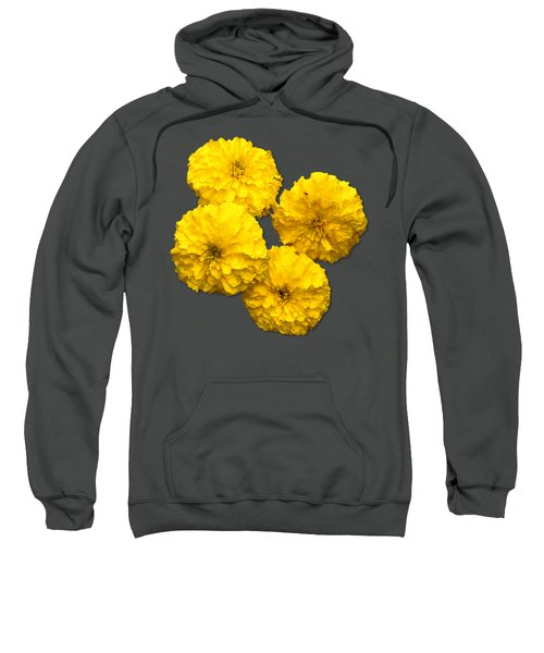Yellow Flowers Sweatshirt