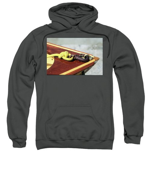 Yellow Line Sweatshirt