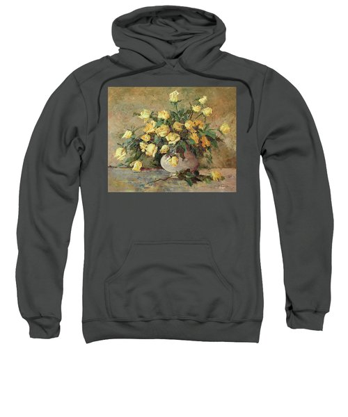 Yellow Roses Sweatshirt