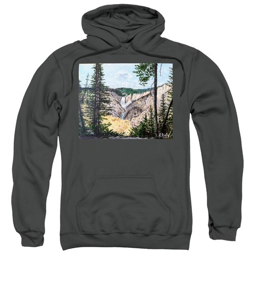 Yellowstone Falls Sweatshirt