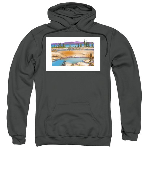 Yellowstone Sweatshirt by Kathryn Launey