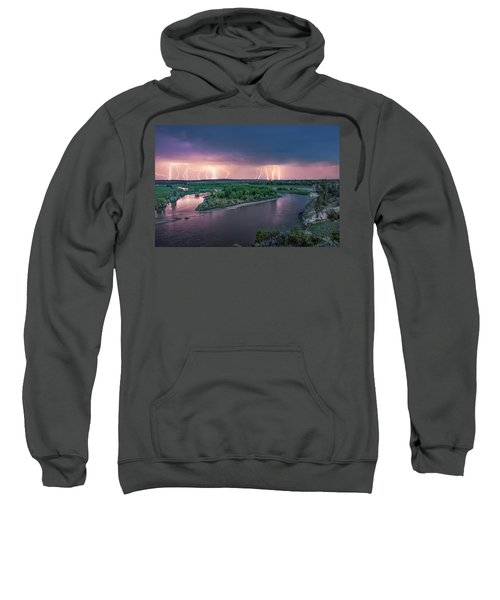 Yellowstone River Lightning Sweatshirt