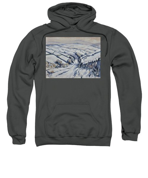 Yorkshire In The Snow Sweatshirt