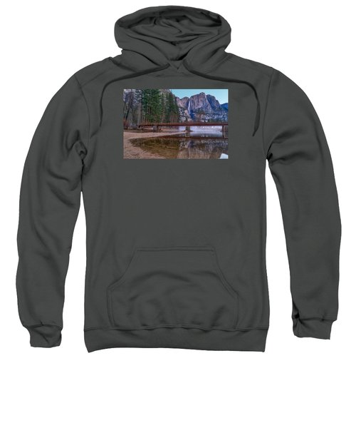 Yosemite Falls At The Swinging Bridge Sweatshirt