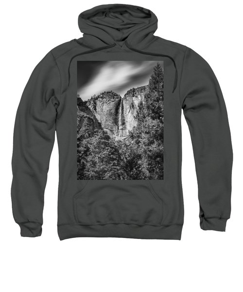 Sweatshirt featuring the photograph Yosemite Falls by Chris Cousins