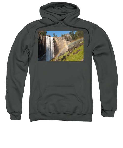 Yosemite Mist Trail Rainbow Sweatshirt