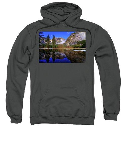 Yosemite Winter Reflections Sweatshirt