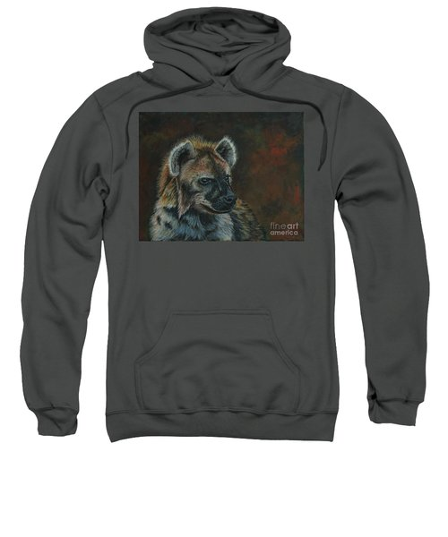 You Don't See Me Laughing......hyena Sweatshirt