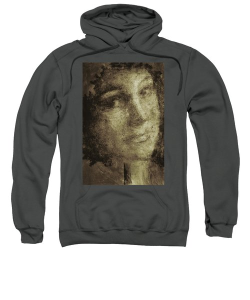 Young Mother Nature Digital Painting Sweatshirt