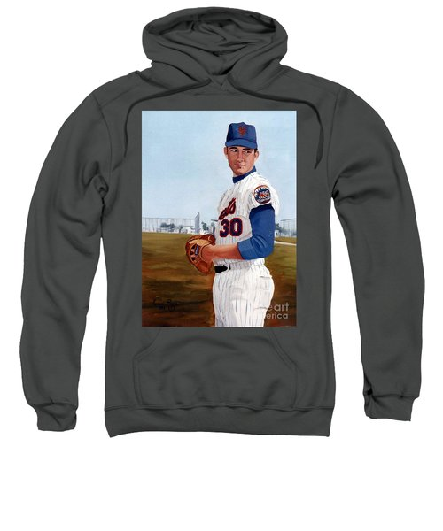 Young Nolan Ryan - With Mets Sweatshirt