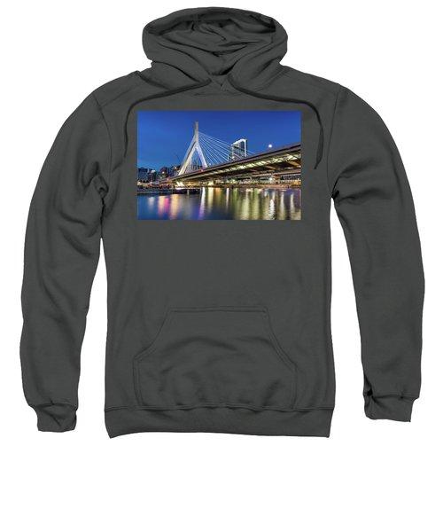 Zakim Bridge And Charles River Sweatshirt