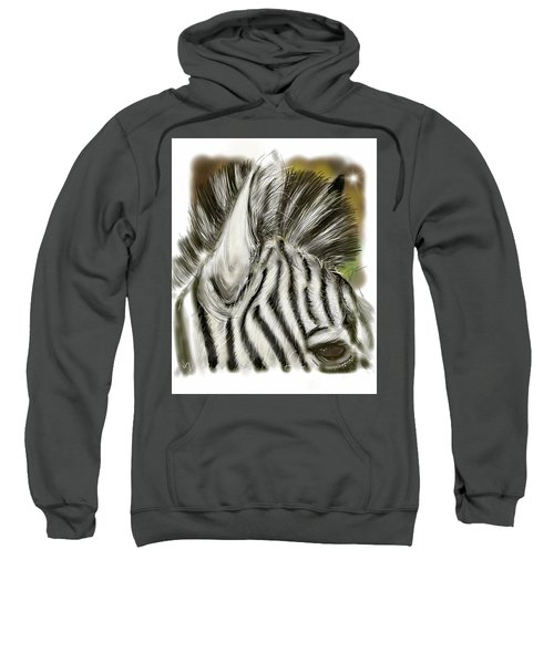 Zebra Digital Sweatshirt