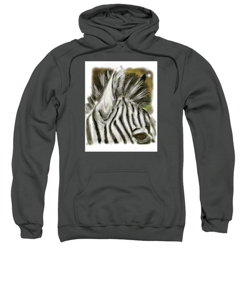 Zebra Digital Sweatshirt
