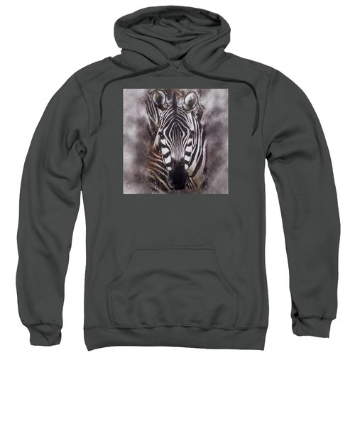 Zebra Splash Sweatshirt