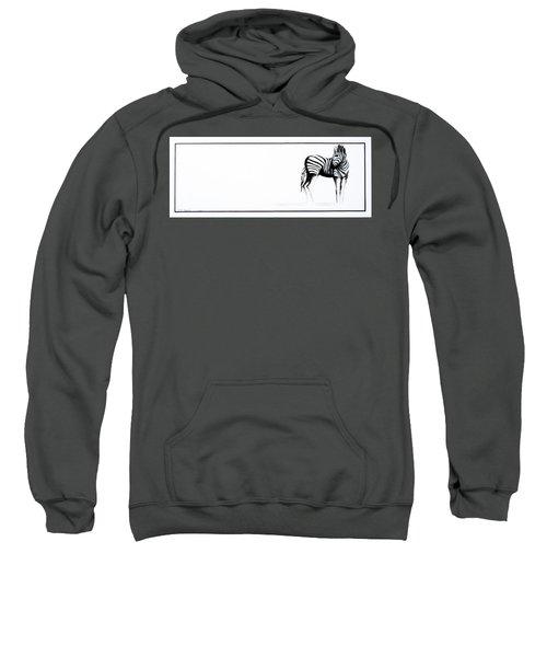 Zebra3 Sweatshirt