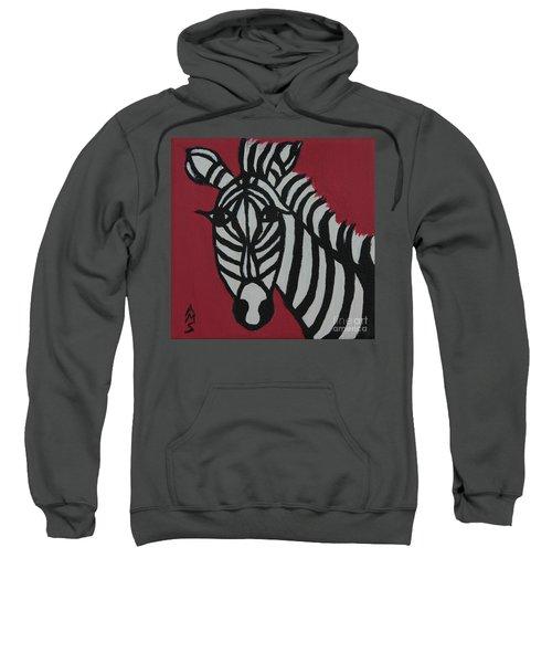 Zena Zebra Sweatshirt