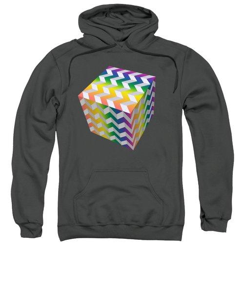 Zig Zag Cube Sweatshirt