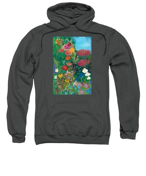 Zinnias Garden Sweatshirt