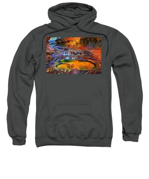 Zion Subway Falls Sweatshirt