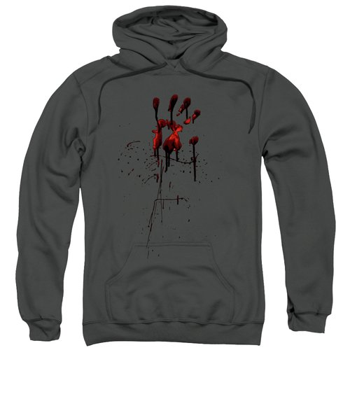 Zombie Attack - Bloodprint Sweatshirt