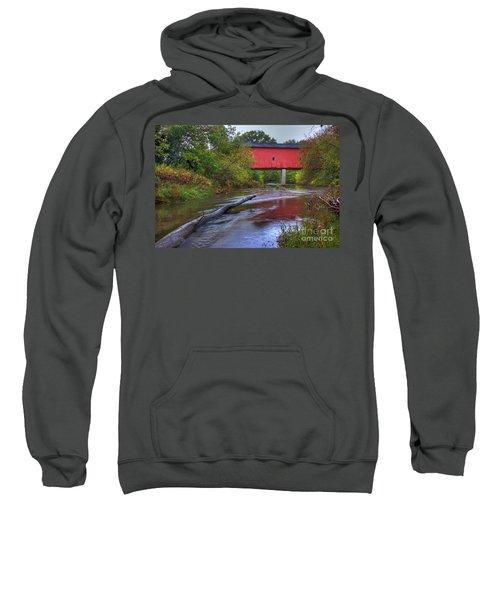 Zumbrota Minnesota Historic Covered Bridge 5 Sweatshirt