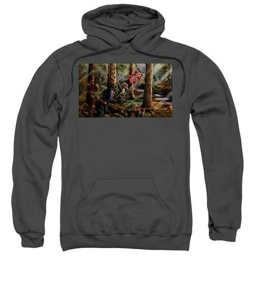 Battle Of Chancellorsville - The Wilderness Sweatshirt