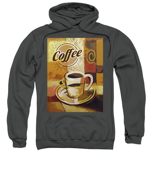 Coffee Poster Sweatshirt