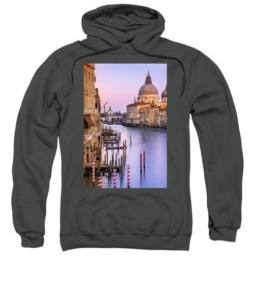 Evening Light In Venice Sweatshirt