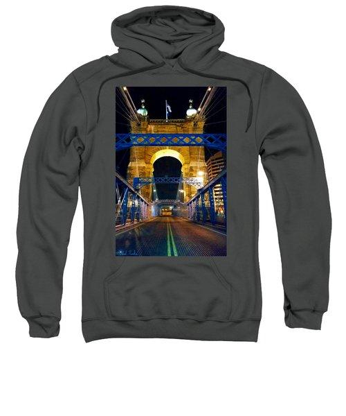 John A. Roebling Bridge Sweatshirt