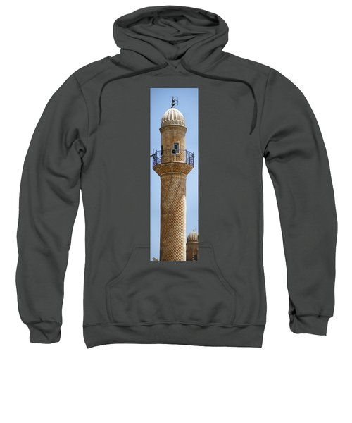 Minaret Of Ulu Cami Mosque Sweatshirt
