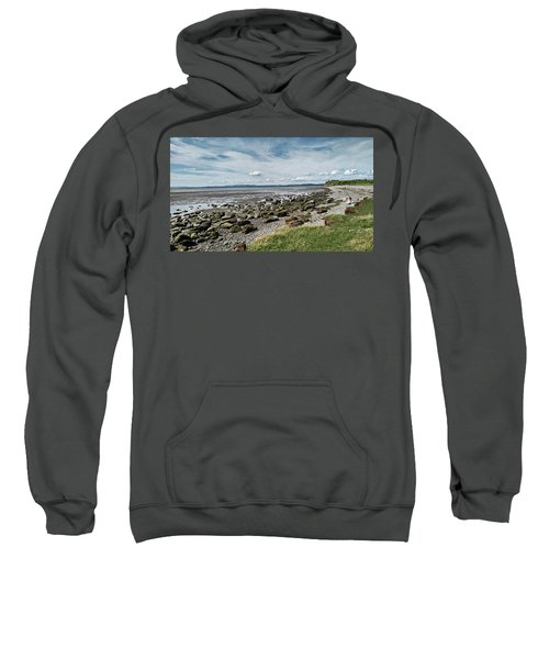Morecambe. Hest Bank. The Shoreline. Sweatshirt