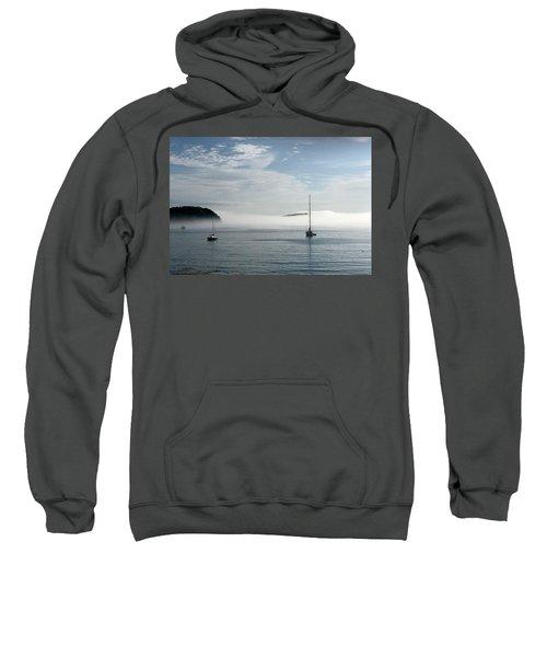 Morning Mist On Frenchman's Bay Sweatshirt