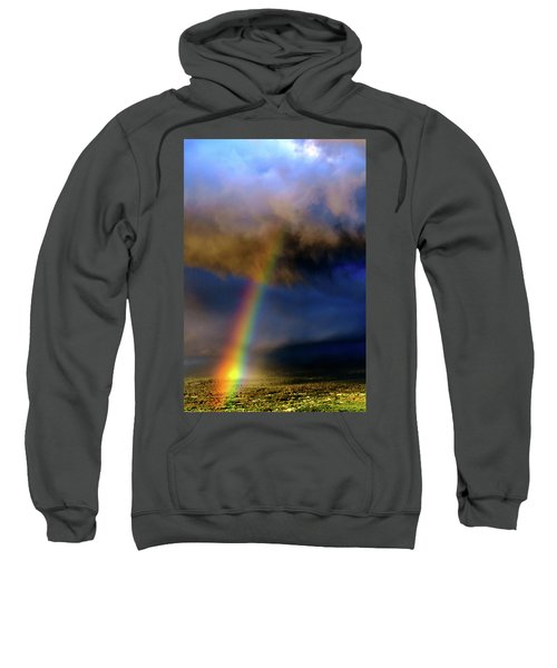 Rainbow During Sunset Sweatshirt