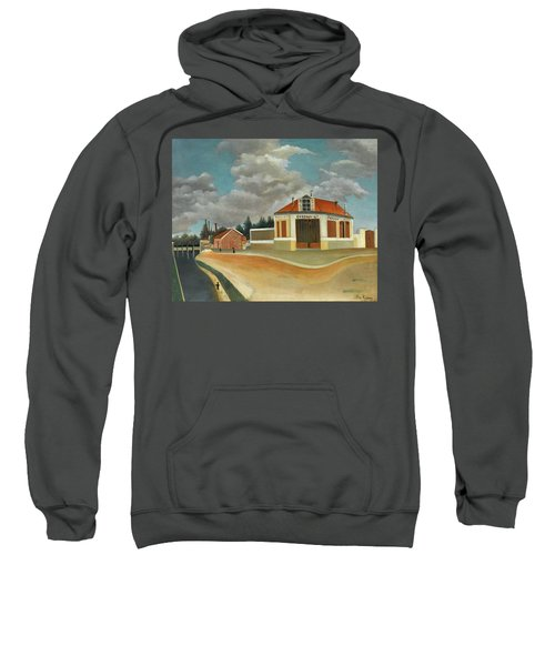 The Chair Factory At Alfortville Sweatshirt