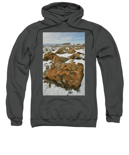 The Many Colors Of The Book Cliffs Sweatshirt