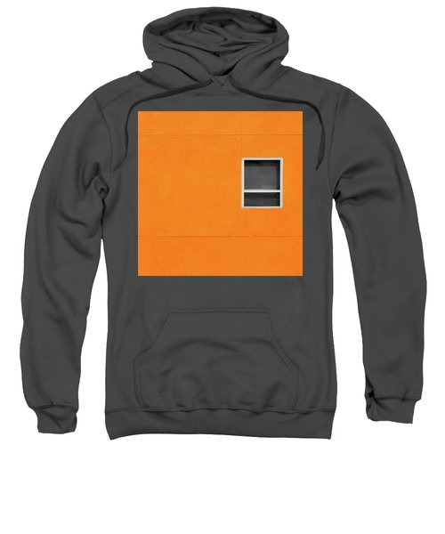 Very Orange Wall Sweatshirt