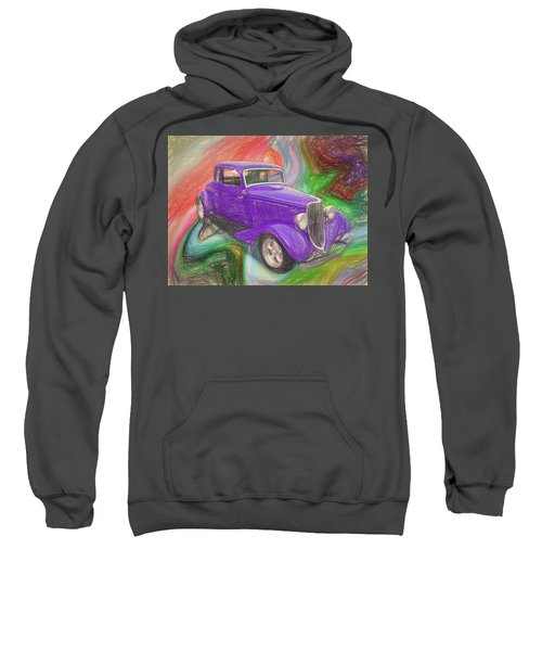 1934 Ford Colored Pencil Sweatshirt