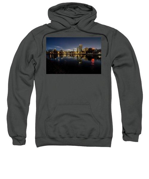 Chicago Skyline At Dawn  Sweatshirt
