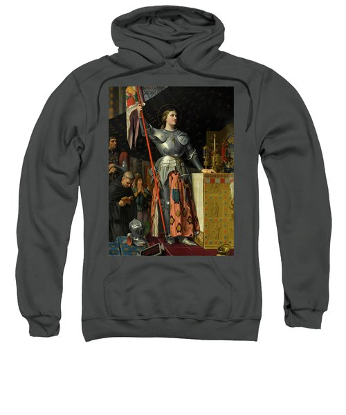Joan Of Arc At The Coronation Of Charles Vii Sweatshirt
