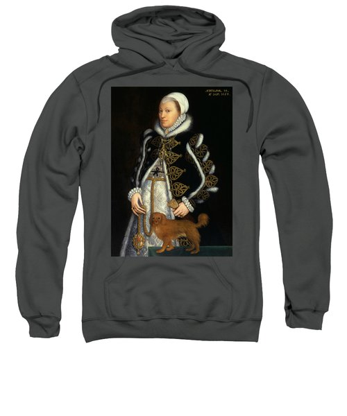 Portrait Of A Woman, Probably Catherine Carey, Lady Knollys Sweatshirt