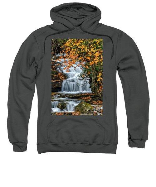 Waterfall And Fall Color Sweatshirt